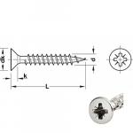 Chipboard screws HOSPA_