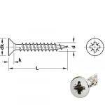 Chipboard screws HOSPA