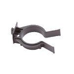 Plinth clip for plastic plinth panels