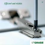 Hinges G*GRASS slide-on ( SSP)