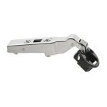 CLIP top glass door hinge , cabinet angle +45^ (glass 4,5 - 7mm), d26