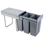 Pull-out waste bin Mod-300/3x10L S/C Gr