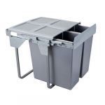 Pull-out waste bin Mod-600/2x34L S/C