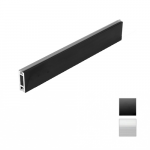 Wardrobe rail  SLIM LED 10x30x2mm  L- 3m