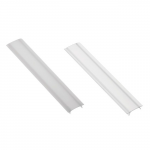Cover and cap for aluminum profile L- 2m