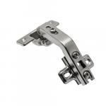 Slide-on GTV PRESTIGE corner cabinet bi-fold hinge 135^ H-2