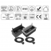 Teleblock for desk ( 2 roz + 2 USB +HDMI) with cable