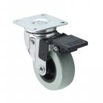 Castors with brake, d75/65х65 H- 95mm , 35kg