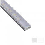 Surface LED profile Nr2 with matte reflector, L- 2m