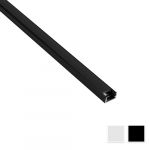 Surface LED profile Nr2 with matte reflector, L- 3m