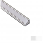 Corner LED profile Nr3 with reflector_matte, L- 2m