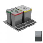 Bins for drawers MULTINO Mod-600/29(15L+2x7L)