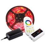 LED RGB 7,6W set, controller RF, 5 m, IP20