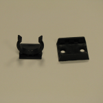 Plinth clip with bracket
