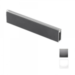 Wardrobe rail 12x32x1,5mm L- 3m