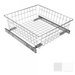 Pull- out basket, full extension runners H - 155